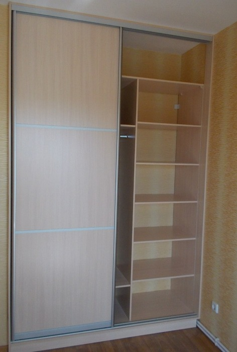Встроенные шкафы-купе-Шкаф-купе из ЛДСП «Модель 78»-фото2