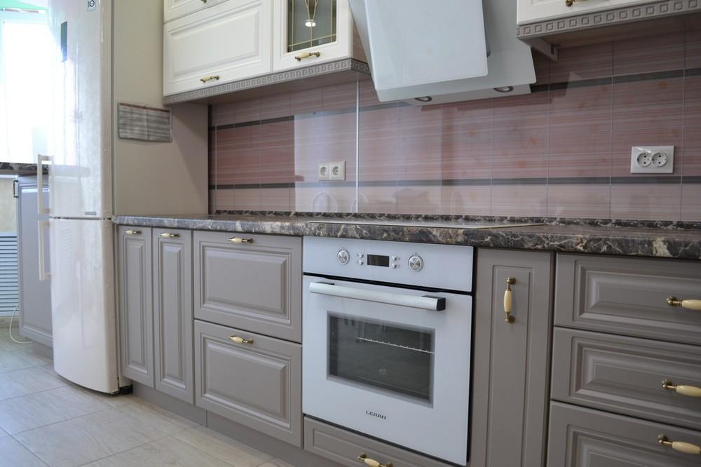Встроенная кухня-Кухня МДФ в ПВХ «Модель 178»-фото5