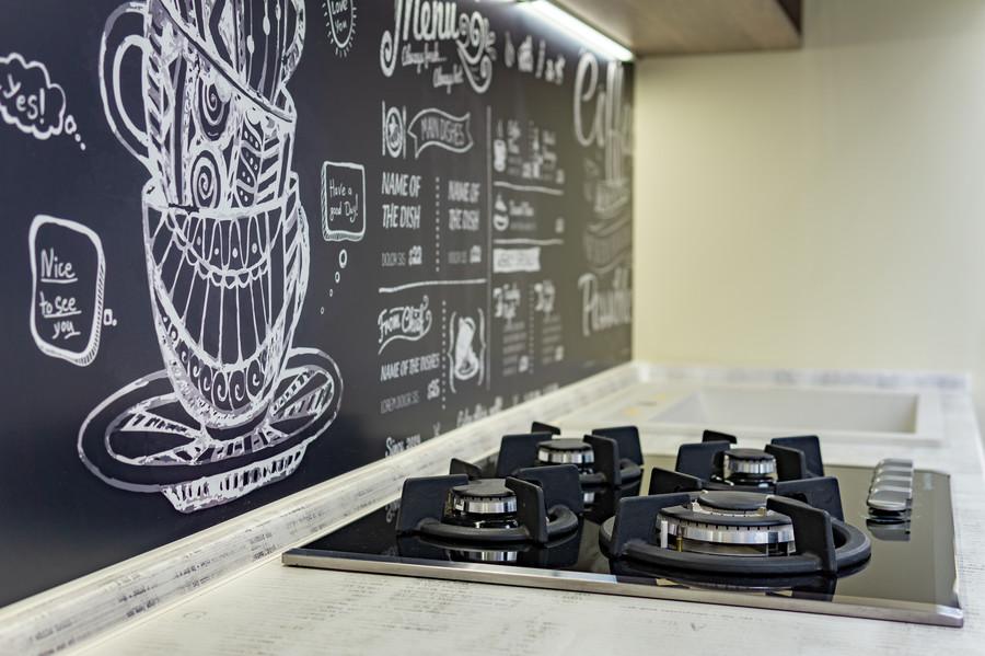 Встроенная кухня-Кухня МДФ в эмали «Модель 49»-фото8