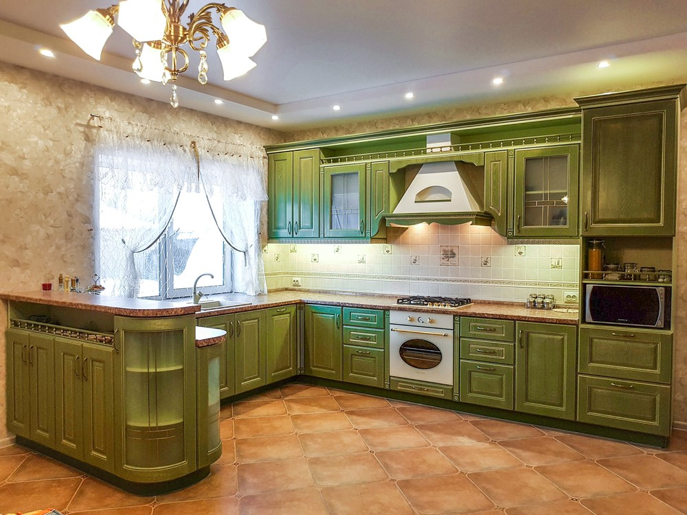 Дорогие и элитные кухни-Кухня из массива «Модель 23»-фото3