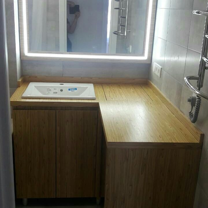 Мебель для ванной комнаты-Мебель для ванны «Модель 49»-фото2