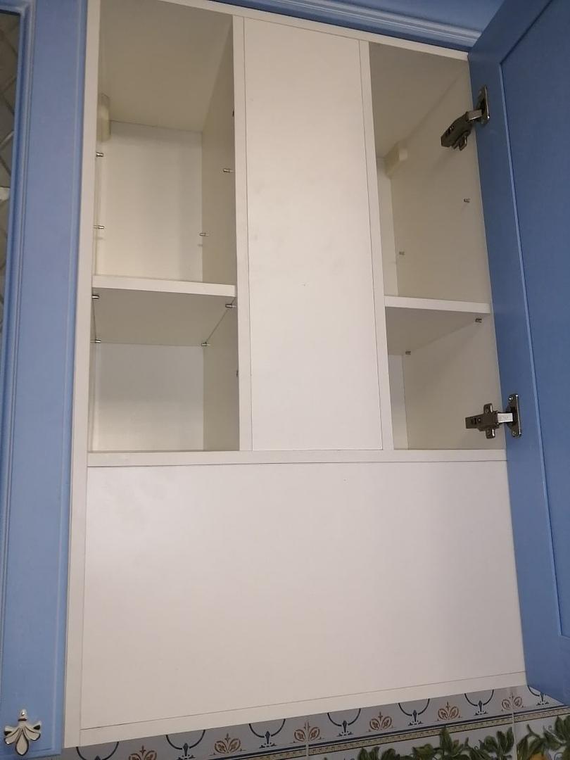 Классические кухни-Кухня МДФ в эмали «Модель 582»-фото8