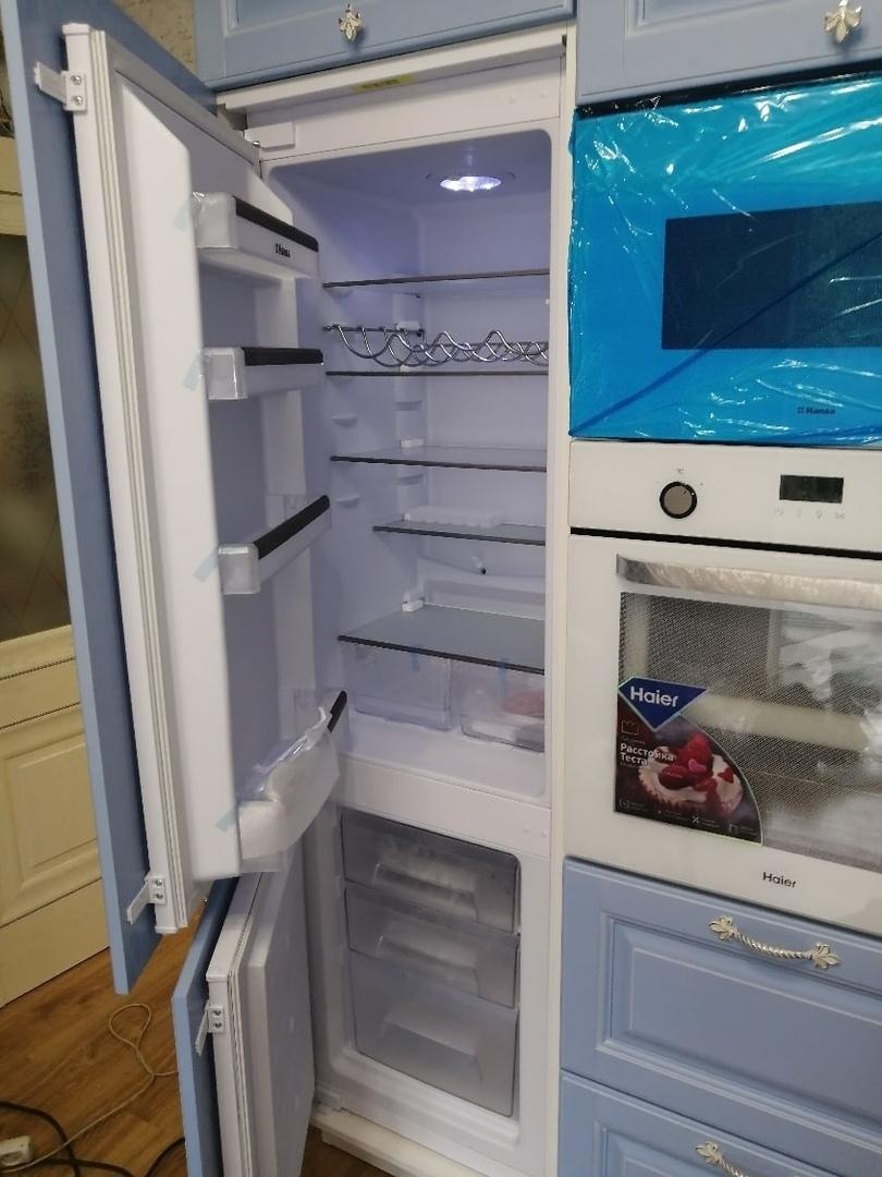 Классические кухни-Кухня МДФ в эмали «Модель 582»-фото6