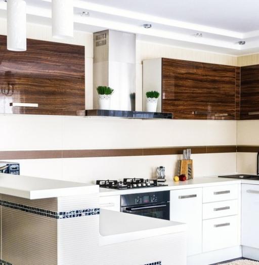 -Кухня из акрила «Модель 407»-фото27