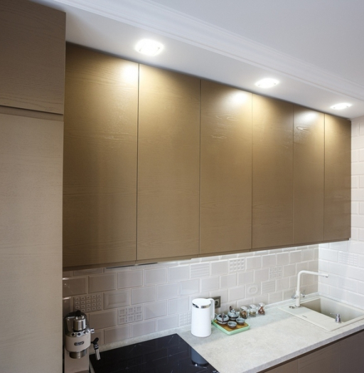 Встроенная кухня-Кухня из ЛДСП «Модель 425»-фото6