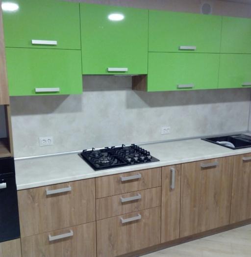 -Кухня из пластика «Модель 355»-фото10