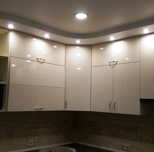 Белый кухонный гарнитур-Кухня МДФ в ПВХ «Модель 36»-фото5