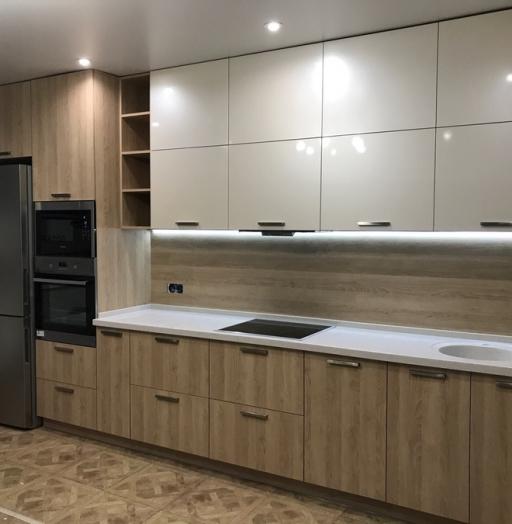 -Кухня МДФ в ПВХ «Модель 67»-фото18