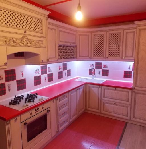 -Кухня из шпона «Модель 13»-фото9