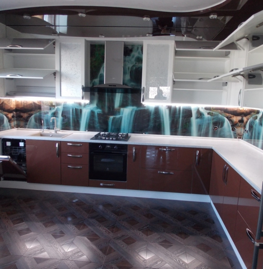 -Кухня из шпона «Модель 14»-фото10