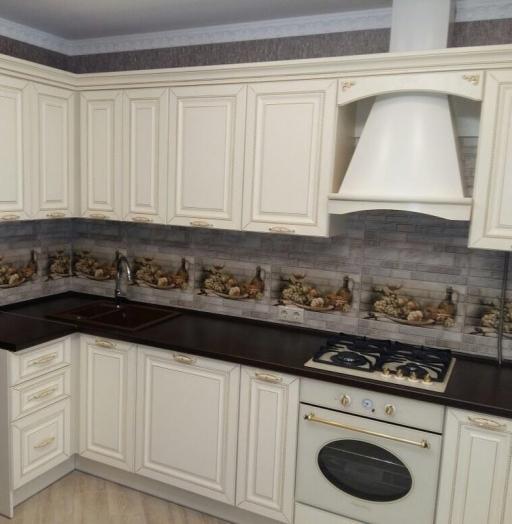 -Кухня МДФ в ПВХ «Модель 146»-фото3