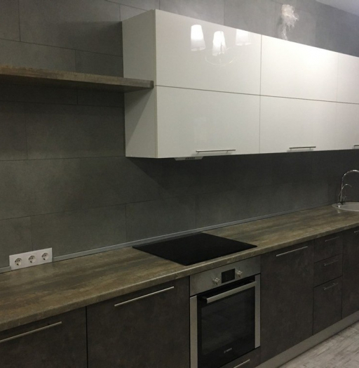 -Кухня МДФ в эмали «Модель 159»-фото19