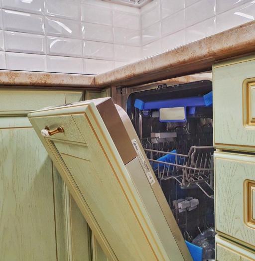 Классические кухни-Кухня из шпона «Модель 559»-фото11